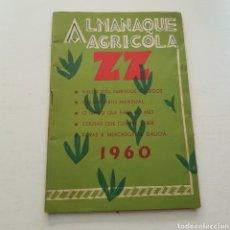 Livros em segunda mão: ALMANAQUE AGRICOLA ZZ 1960. Lote 235683435