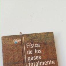 Libri di seconda mano: FÍSICA DE LOS GASES TOTALMENTE IONIZADOS. L.SPITZER. JR. Lote 235708225