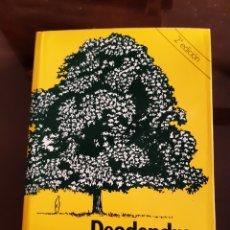 Livres d'occasion: JARDINERIA ARQUITECTURA DEODENDRON ÁRBOLES Y ARBUSTOS DE JARDÍN EN CLIMA TEMPLADO RAFAEL CHANES. Lote 235901075