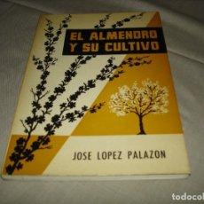Livres d'occasion: EL ALMENDRO Y SU CULTIVO - JOSÉ LÓPEZ PALAZON - BIBLIOTECA AGRÍCOLA PRÁCTICA - MUNDI - PRENSA - 1965. Lote 236859645