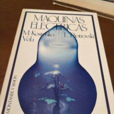 Libros de segunda mano de Ciencias: MÁQUINAS ELÉCTRICAS M. KOSTENKO VOL.1. Lote 237172610