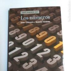 Livros em segunda mão: LOS NÚMEROS. JAVIER CILLERUELO Y ANTONIO CÓRDOBA CSIC 2010 . MATENUMEROS. Lote 237628270