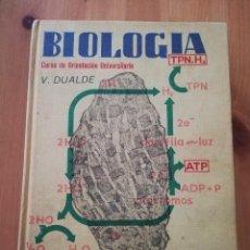 Libros de segunda mano: BIOLOGÍA. CURSO DE ORIENTACIÓN UNIVERSITARIA (VICENTE DUALDE PÉREZ). Lote 238226620
