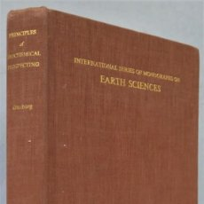 Livres d'occasion: PRINCIPLES OF GEOCHEMICAL PROSPECTING. GINZBURG. Lote 238307040