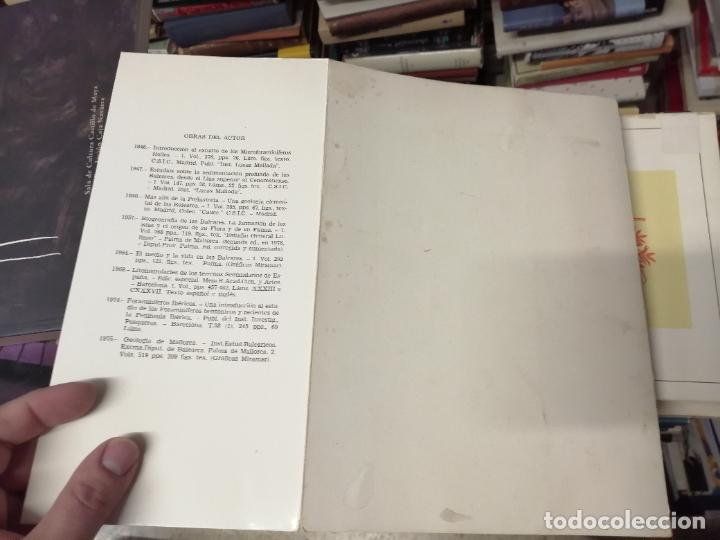 Libros de segunda mano: GEOMORFOLOGÍA DE MALLORCA . EL RELIEVE Y LA FORMA DE SUS MONTAÑAS . GUILLEM COLOM . 1982 - Foto 20 - 239796055