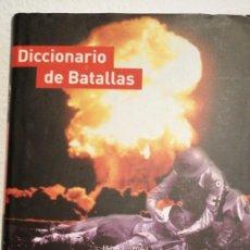Libros de segunda mano de Ciencias: DICCIONARIO DE BATALLAS SALVAT JOHN LAFFIN. Lote 240063615