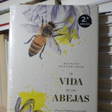 Libros de segunda mano: LA VIDA DE LAS ABEJAS MAURICE MAETERLINCK. ARIEL. LIBRO NUEVO. Lote 255469000