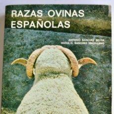 Libri di seconda mano: ANTONIO SÁNCHEZ Y MARÍA C. SÁNCHEZ. RAZAS OVINAS ESPAÑOLAS. MINISTERIO DE AGRICULTURA. MADRID, 1979.. Lote 240443180