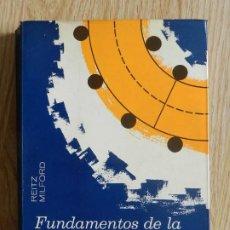 Libros de segunda mano de Ciencias: FUNDAMENTOS DE LA TEORÍA ELECTROMAGNÉTICA RITZ MILFORD UNIÓN TIPOGRÁFICA HISPANO AMERICANA 1975. Lote 240851850