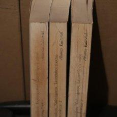 Libros de segunda mano de Ciencias: LA MATEMÁTICA: SU CONTENIDO, MÉTODOS Y SIGNIFICADO ALIANZA UNIVERSIDAD.. Lote 241147705