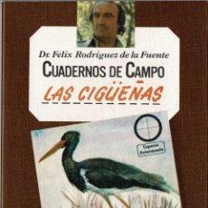Livros em segunda mão: CUADERNOS DE CAMPO NO. 31. LAS CIGÜEÑAS - FÉLIX RODRÍGUEZ DE LA FUENTE. Lote 241240220