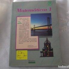Libros de segunda mano de Ciencias: LIBRO DE MATEMÁTICAS DE EDITORIAL BRUÑO.. Lote 241399865