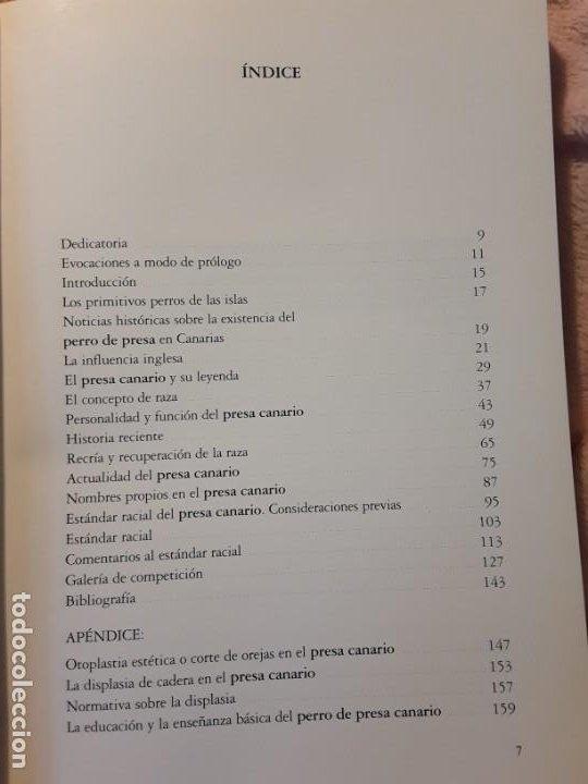 Libros de segunda mano: Dos libros sobre el perro presa canario. Manuel martin y Pascual asensi - Foto 10 - 241447735