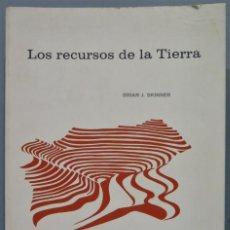 Libri di seconda mano: LOS RECURSOS DE LA TIERRA. BRIAN J. SKINNER. Lote 241525475