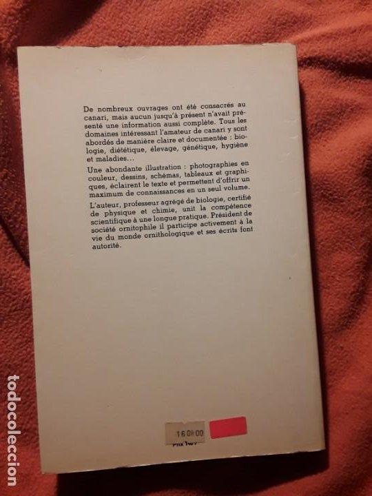 Libros de segunda mano: Le canari. Maurice Pomarede. Precis de canariculture (canarios, canaricultura) En francés - Foto 2 - 242001360