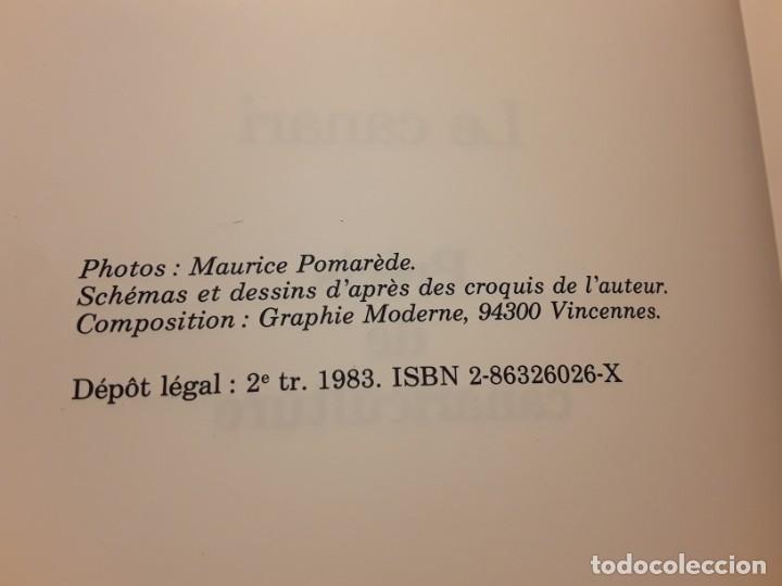 Libros de segunda mano: Le canari. Maurice Pomarede. Precis de canariculture (canarios, canaricultura) En francés - Foto 3 - 242001360