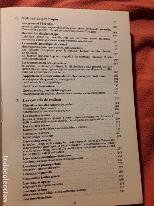 Libros de segunda mano: Le canari. Maurice Pomarede. Precis de canariculture (canarios, canaricultura) En francés - Foto 6 - 242001360