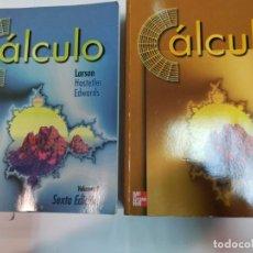 Livres d'occasion: LARSON HOSTETLER EDWARDS CÁLCULO 2 TOMOS SA2864. Lote 242359085