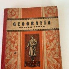 Libros de segunda mano de Ciencias: GEOGRAFÍA PRIMER CURSO (BOL 3). Lote 242827105