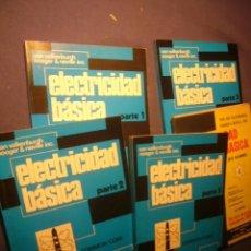 Libros de segunda mano de Ciencias: VAN VALKENBURGH Y NOOGER & NEVILLE: - ELECTRICIDAD BASICA (5 TOMOS) -. Lote 242896390