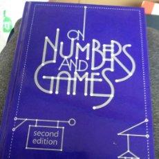 Libri di seconda mano: ON NUMBERS AND GAMES CONWAY, JOHN H.. Lote 243214335