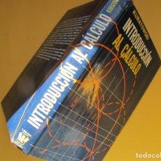 Libri di seconda mano: INTRODUCCIÓN AL CÁLCULO.- KURATOWSKI.- EDITORIAL LIMUSA-WILEY.- 1970 ( ENCUADERNADO TAPA DURA TELA ). Lote 243680315
