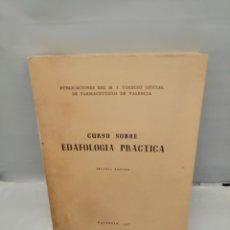 Libri di seconda mano: CURSO SOBRE EDAFOLOGÍA PRÁCTICA: APUNTES DE CONFERENCIAS Y LECCIONES DEL DR. JOSÉ CASTELLÓ PEIRÓ. Lote 243559455