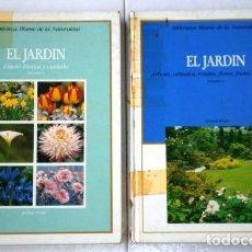 Libros de segunda mano: EL JARDÍN 2T POR MICHAEL WRIGHT DE ED. BLUME EN VITORIA 1983. Lote 244536190