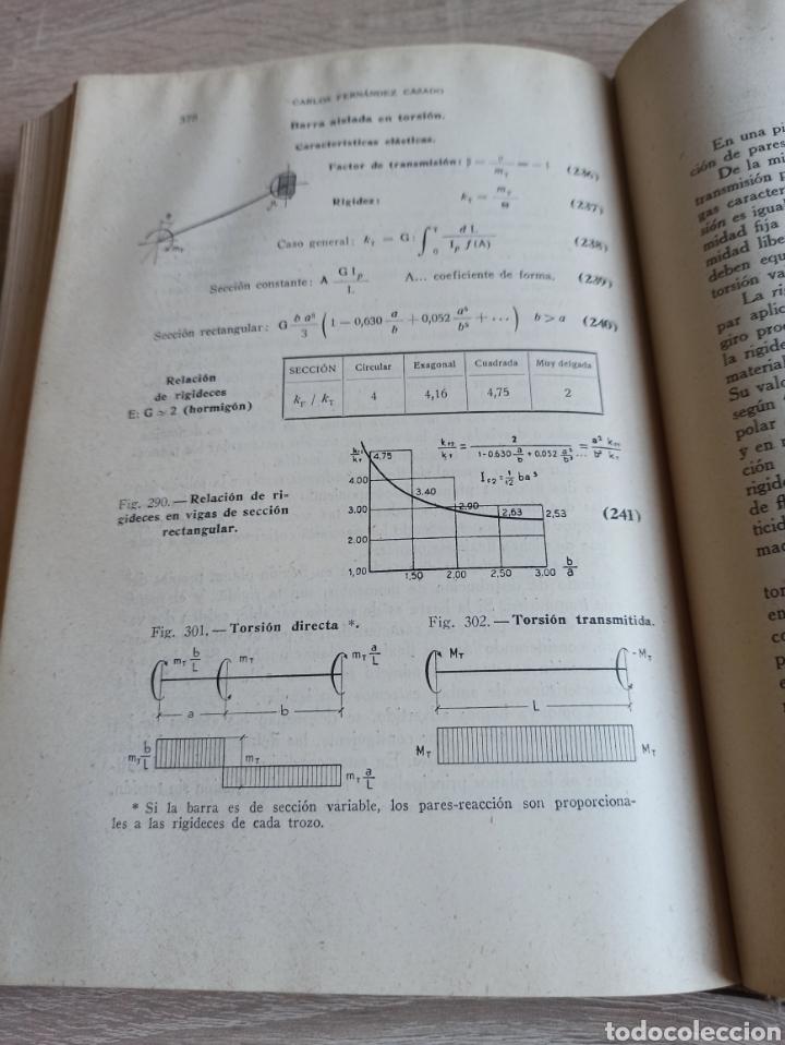 Libros de segunda mano de Ciencias: Cálculo de Estructuras Reticulares Carlos Fernández Casado Editorial Dossat Septima Edición 1958 - Foto 9 - 244713620