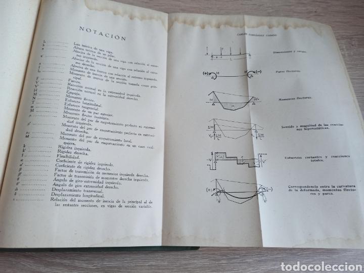 Libros de segunda mano de Ciencias: Cálculo de Estructuras Reticulares Carlos Fernández Casado Editorial Dossat Septima Edición 1958 - Foto 11 - 244713620