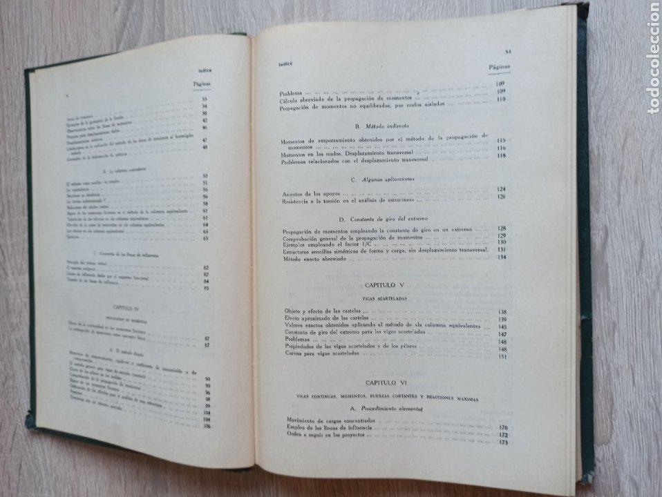 Libros de segunda mano de Ciencias: Cross-Morgan Estructuras continuas de Hormigón Armado Editorial Dossat Firmado por los traductores - Foto 7 - 244714565