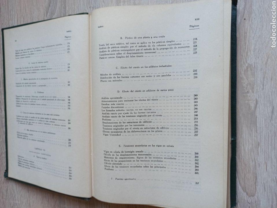 Libros de segunda mano de Ciencias: Cross-Morgan Estructuras continuas de Hormigón Armado Editorial Dossat Firmado por los traductores - Foto 8 - 244714565