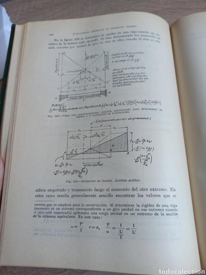 Libros de segunda mano de Ciencias: Cross-Morgan Estructuras continuas de Hormigón Armado Editorial Dossat Firmado por los traductores - Foto 12 - 244714565