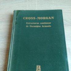 Libros de segunda mano de Ciencias: CROSS-MORGAN ESTRUCTURAS CONTINUAS DE HORMIGÓN ARMADO EDITORIAL DOSSAT FIRMADO POR LOS TRADUCTORES. Lote 244714565