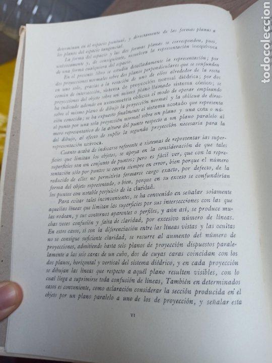 Libros de segunda mano de Ciencias: Geometría Descriptiva Aplicada al Dibujo por L. Crusat y M. Daurella - Bosch Casa Editorial 1950 - Foto 5 - 244718620