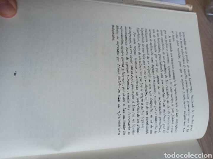 Libros de segunda mano de Ciencias: Geometría Descriptiva Aplicada al Dibujo por L. Crusat y M. Daurella - Bosch Casa Editorial 1950 - Foto 7 - 244718620