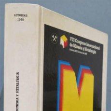 Libros de segunda mano: GEOLOGIA APLICADA. 1ª PARTE. VIII CONGRESO INTERNACIONAL DE MINERÍA Y METALURGIA.. Lote 244758045