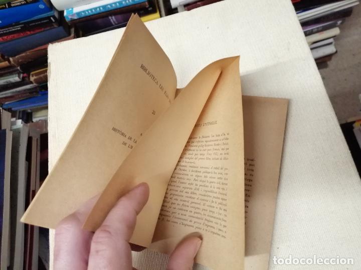 Libros de segunda mano: HISTÒRIA DE LA CONEIXENÇA GEOLÒGICA DE LILLA DE MALLORCA . BARTOMEU DARDER . MOLL . 1946 - Foto 3 - 247443620