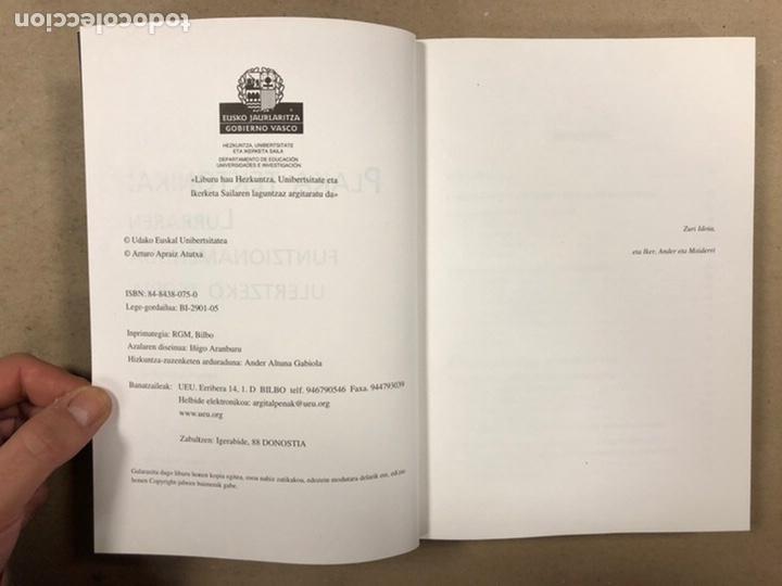 Libros de segunda mano: PLAKA TEKTONIKA: LURRAREN FUNTZIONAMENDUA ULERTZEKO TEORIA. ARTURO APRAIZ ATUTXA - Foto 3 - 247552635