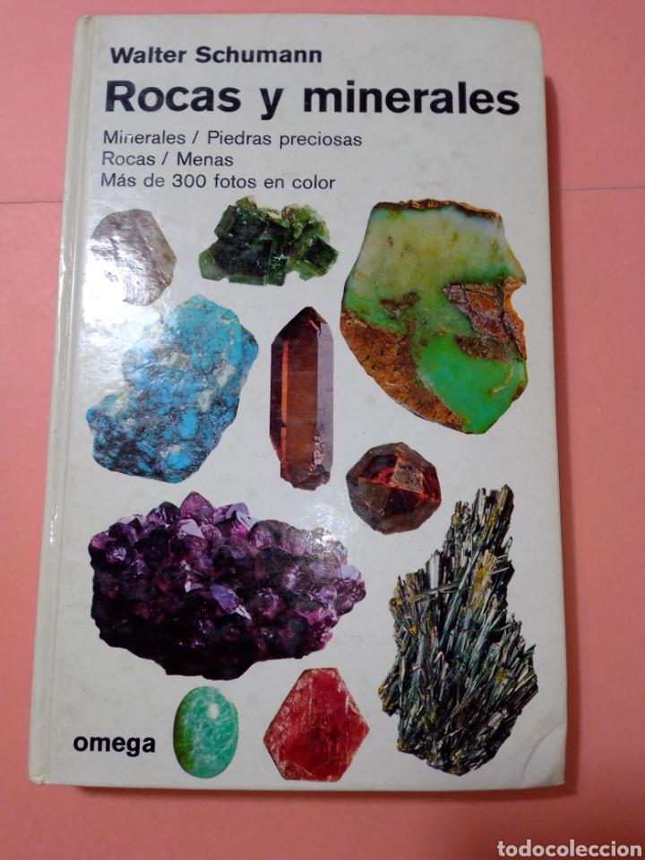 1988 ROCAS Y MINERALES, WALTER SCHUMANN, MAS DE 399 FOTOS COLOR, ED. OMEGA, TAPA DURA (Libros de Segunda Mano - Ciencias, Manuales y Oficios - Paleontología y Geología)