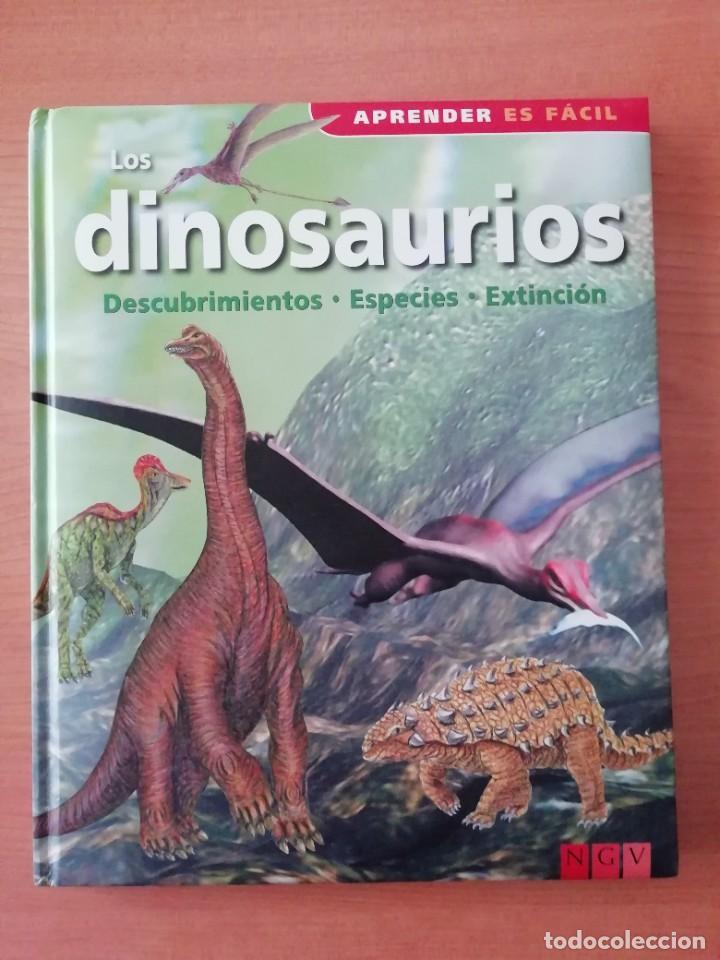 LOS DINOSAURIOS. DESCUBRIMIENTOS, ESPECIES, EXTINCIÓN (Libros de Segunda Mano - Ciencias, Manuales y Oficios - Paleontología y Geología)
