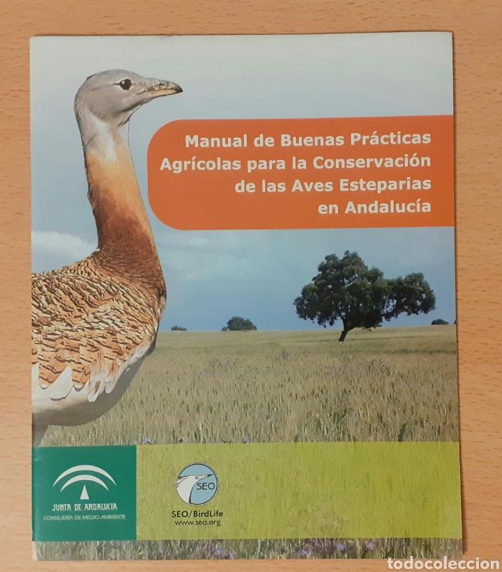 MANUAL DE BUENAS PRÁCTICAS AGRÍCOLAS PARA LA CONSERVACIÓN DE AVES ESTEPARIAS EN ANDALUCÍA (Libros de Segunda Mano - Ciencias, Manuales y Oficios - Biología y Botánica)