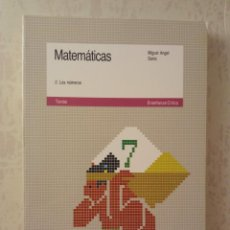 Libri di seconda mano: MATEMÁTICAS 2. LOS NÚMEROS - MIGUEL ANGEL SAINZ - CRÍTICA 1989. Lote 247775735