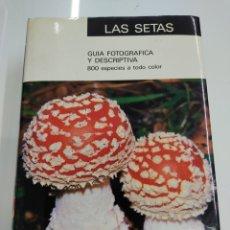 Libros de segunda mano: LAS SETAS IBERDUERO LA BIBLIA MICOLOGICA RAMON MENDAZA GUIA FOTOGRAFICA DESCRIPTIVA PERFECTO ESTADO. Lote 251342775