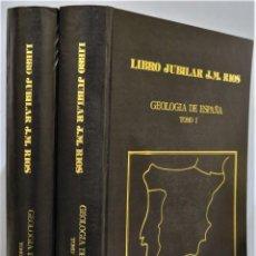 Libros de segunda mano: GEOLOGIA DE ESPAÑA. LIBRO JUBILA DE J. M. RIOS. 2 TOMOS. Lote 251723465