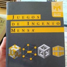 Libros de segunda mano de Ciencias: JUEGOS DE INGENIO MENSA® GRABARCHUK, PETER PUBLICADO POR TUTOR. (2010). Lote 251832540