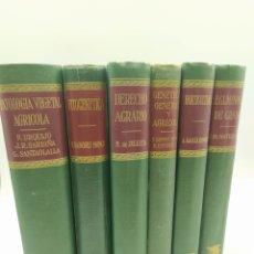 Libros de segunda mano: ENCICLOPEDIA AGRÍCOLA SALVAT 6 TOMOS. Lote 252009670