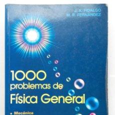 Libros de segunda mano de Ciencias: 1000 PROBLEMAS DE FISICA GENERAL - EDITORIAL EVEREST - 1994. Lote 252054315