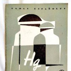 Libros de segunda mano: 1958 - EL MERCURIO - TEMAS ESPAÑOLES NÚM. 367. Lote 252202515