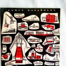 Libros de segunda mano: 1957 - SIDERURGIA DE AVILÉS - TEMAS ESPAÑOLES NÚM. 294. Lote 252203770